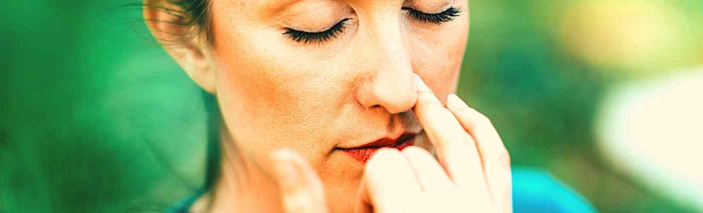How does breathing help control anxiety
