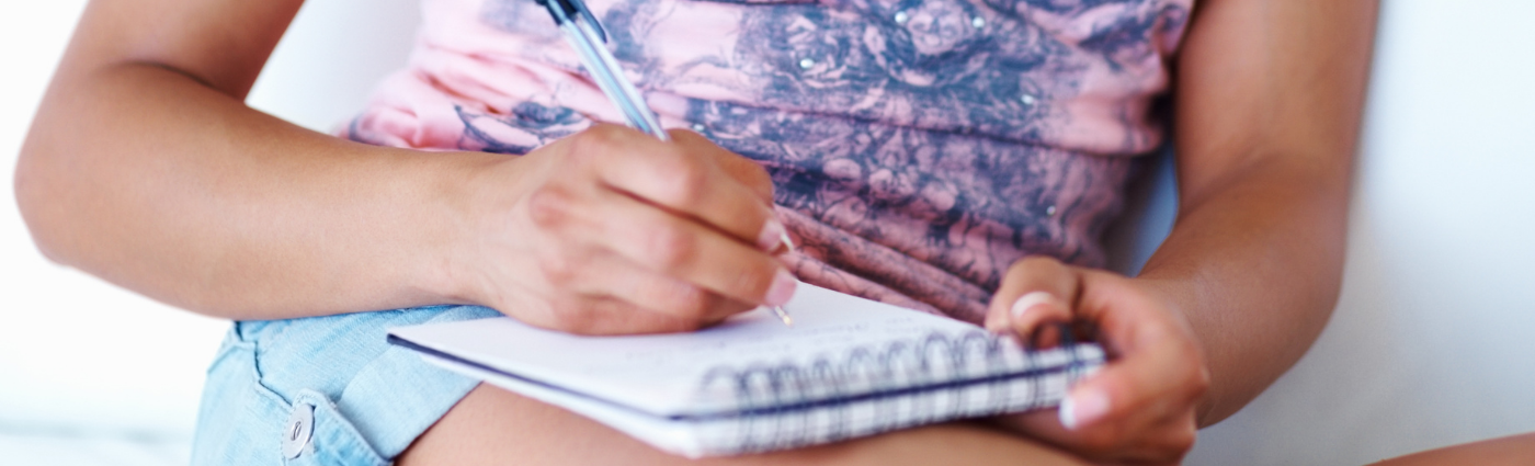 Help your child to write a list of their worries to reduce their anxiety