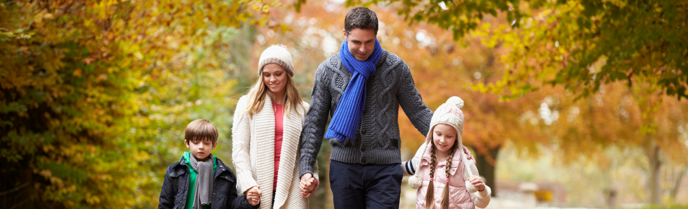 Make time for exercise as a family