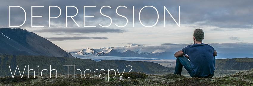 Depression: which therapy is right for me?