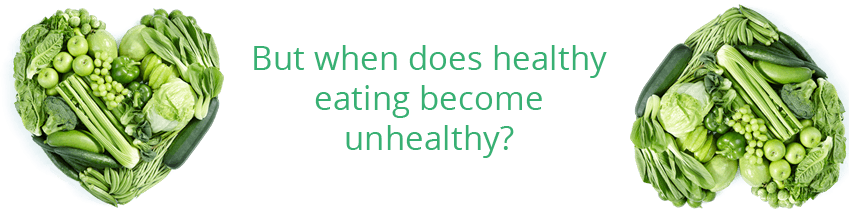 healthy or unhealthy eating